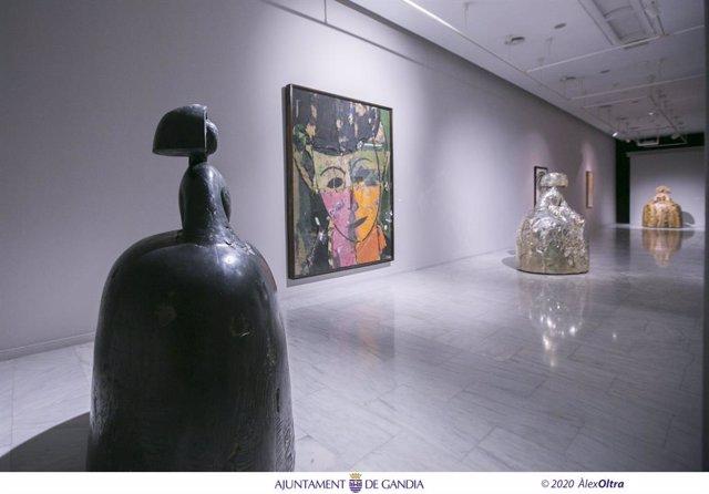 Exposición de Manolo Valdés en la Casa de la Marquesa  de Gandia