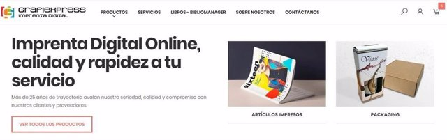 Nueva tienda de Grafiexpress, imprenta digital