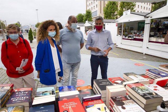 Inauguración Feria del Libro Santander
