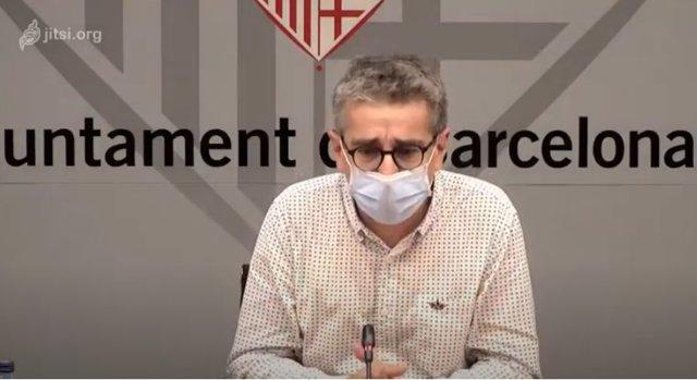 El concejal de Presupuesto y Plan de Barrios de Barcelona, Jordi Martí.