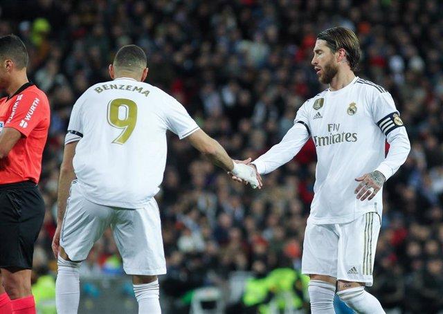 Karim Benzema y Sergio Ramos (Real Madrid)