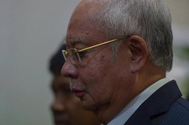 El ex primer ministro de Malasia Najib Razak