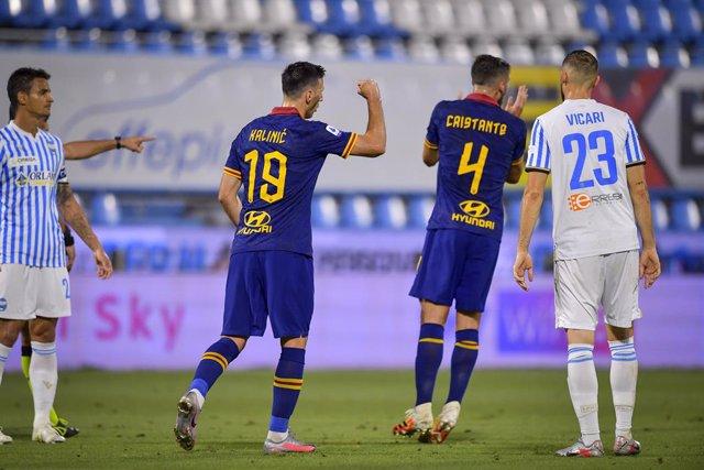 Fútbol/Calcio.- (Crónica) La Roma no regala la quinta plaza