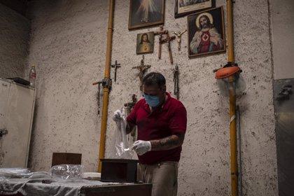 Coronavirus.- México supera los 360.000 casos de coronavirus al confirmar más de 6.000 nuevos