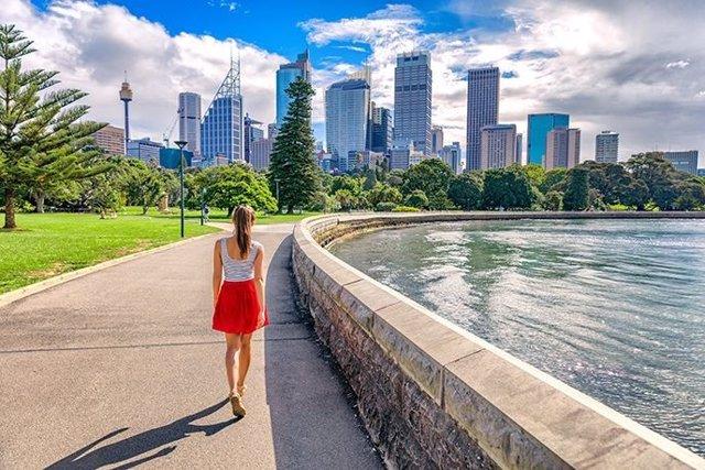 Estudiante en Sydney