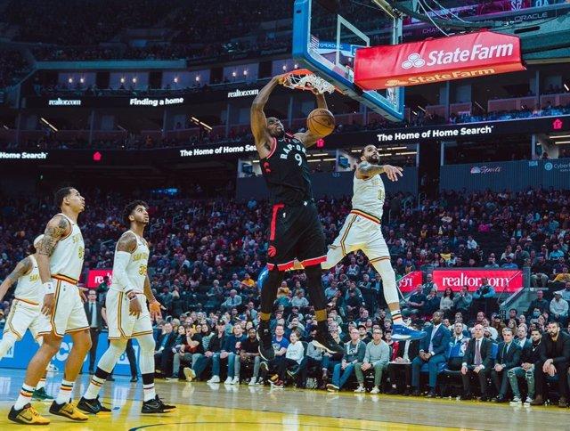 """Baloncesto/NBA.- Serge Ibaka: """"Estar con Marc Gasol siempre me hace feliz"""""""