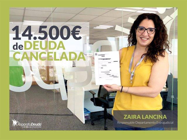 : Zaira Lancina, Responsable Del Departamento Extrajudicial