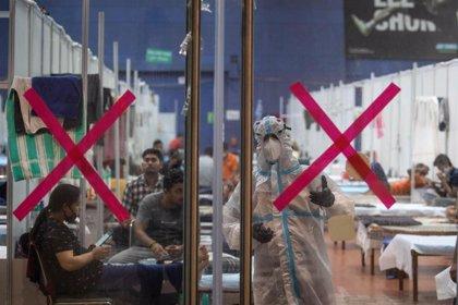 India.- India supera su récord de coronavirus con más de 45.000 casos en el último día y 1.129 muertos