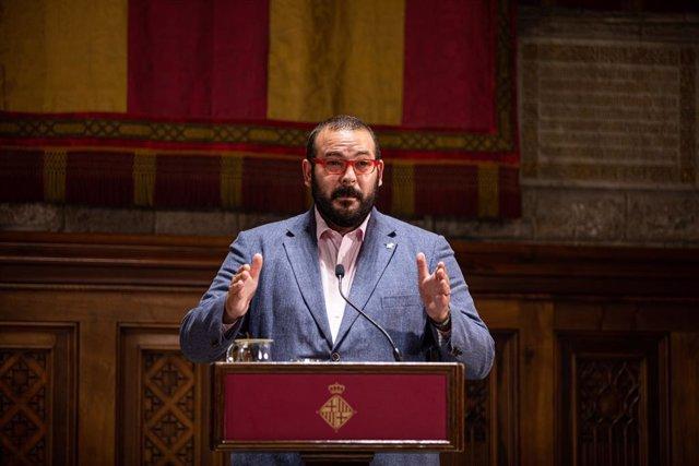 L'alcalde de Mataró, David Bote. Catalunya (Espanya), 22 de juny del 2020.