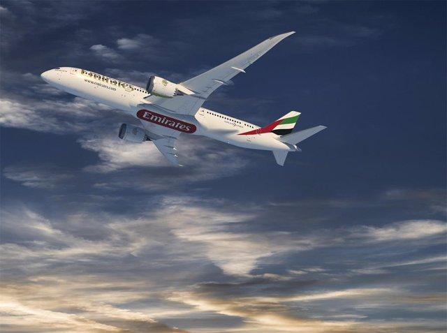 Boeing de Emirates.