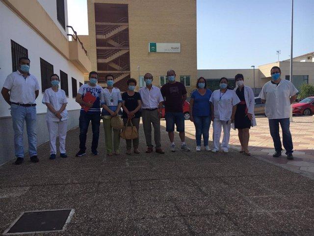 Participantes en el Programa de Rehabilitación Cardíaca del Hospital Valle de los Pedroches de Pozoblanco