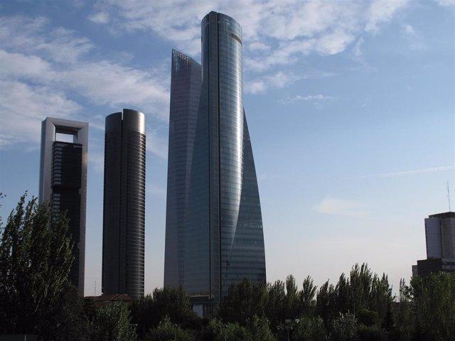 Complejo de las cuatro torres de Madrid