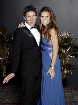 Imagen de archivo de Antonio Banderas y Sandra García-Sanjuán, anfitriones de la XI Starlite Gala