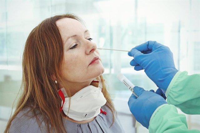 Prueba PCR para diagnosticar el COVID-19