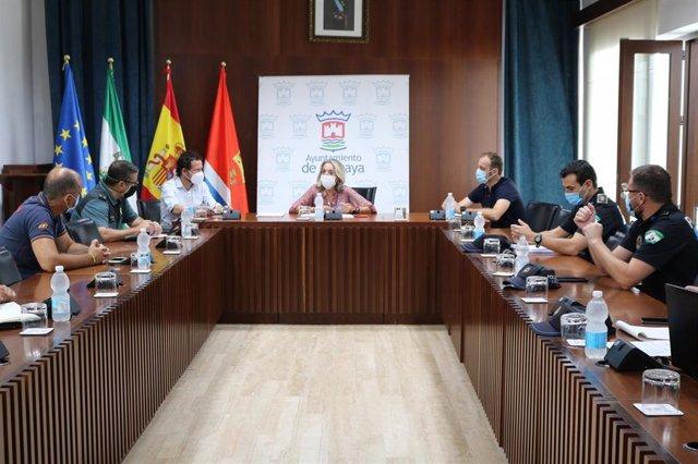 Reunión de la Comisión de Coordinación para la Seguridad del Covid-19 del Ayuntamiento de Cartaya.