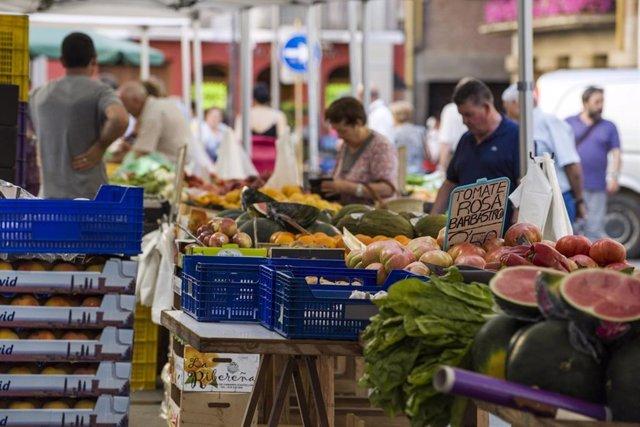 Nota De Prensa. Reanudación Mercado De Frutas Y Verduras