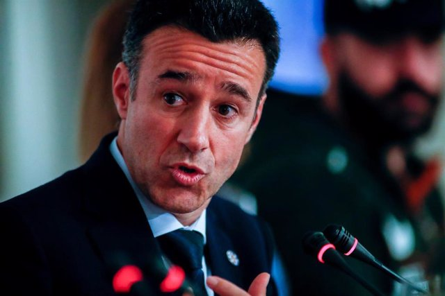 May Peus, presidente de la Real Federación Española de Deportes de Invierno (RFEDI), en los Desayunos Deportivos de Europa Press