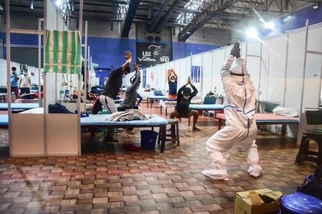 Coronavirus.- India roza los 50.000 nuevos contagios en un nuevo récord diario y