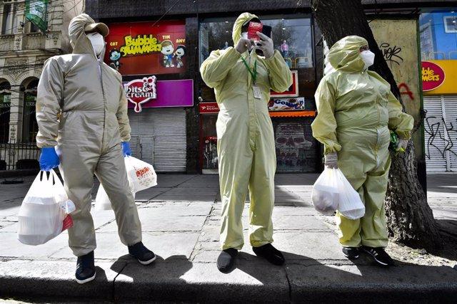 Coronavirus.- Bolivia bate récord diario de muertes por coronavirus con casi 80