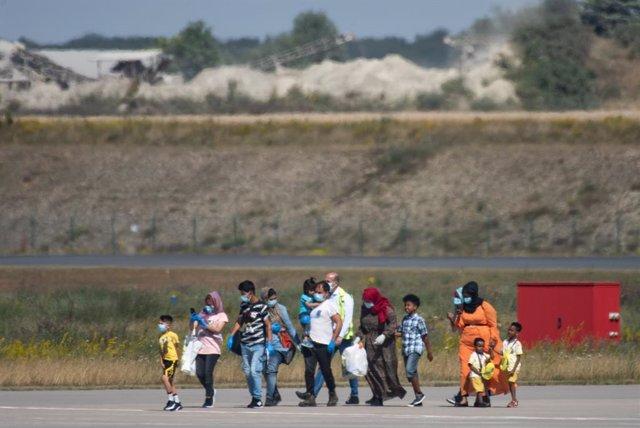 Europa.- Más de 80 migrantes procedentes de Grecia llegan a Alemania como parte