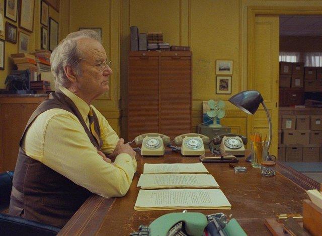 Bill Murray en La crónica francesa (del Liberty, Kansas Evening Sun), lo nuevo de Wes Anderson