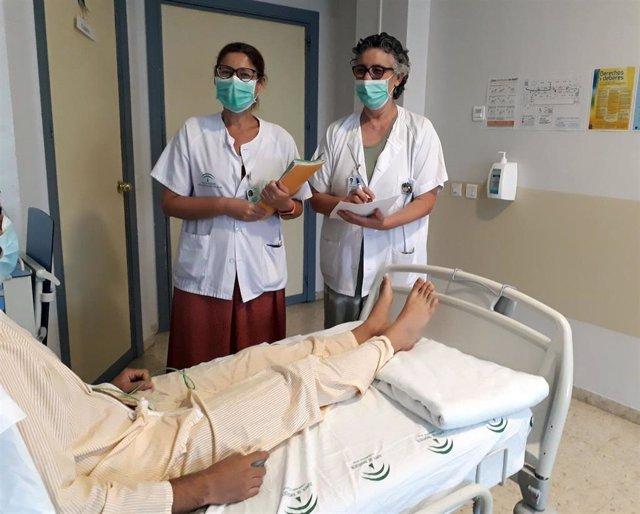 Trabajadoras sociales Hospital de Valme