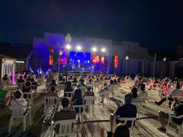 Festival 'Las notas del vino' de Valdepeñas.