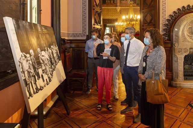 Inauguración de la muestra 'Palacio de Verano'