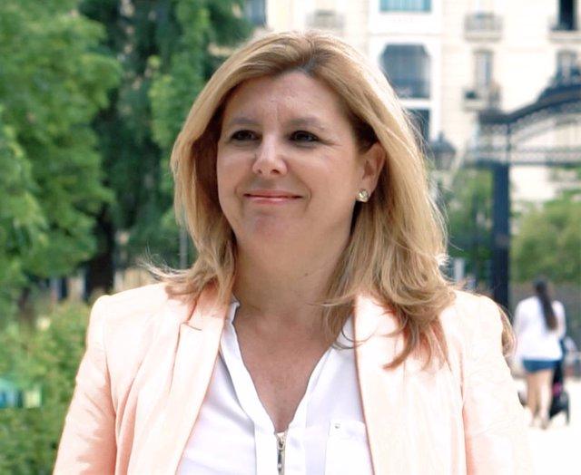 La secretaria general de FEUSO-Andalucía, María de la Paz Agujetas.