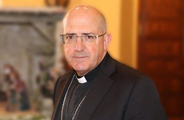 Santiago Gómez Sierra, nuevo obispo de la Diócesis de Huelva.