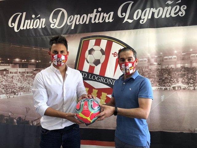 Fútbol.- Sergio Rodríguez seguirá dirigiendo al Logroñés en su estreno en LaLiga