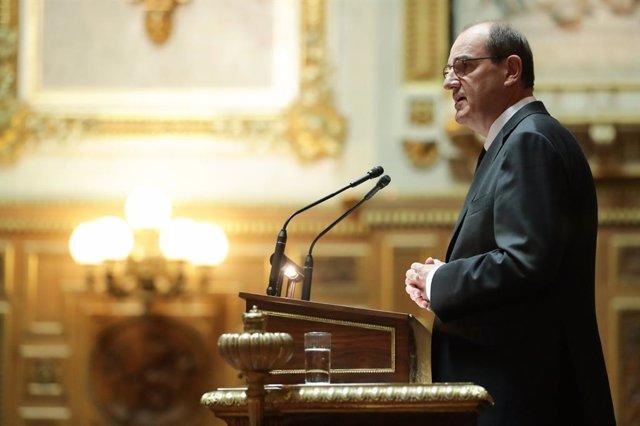 El primer ministro de Francia, Jean Castex, en una comparecencia en la Asamblea Nacional