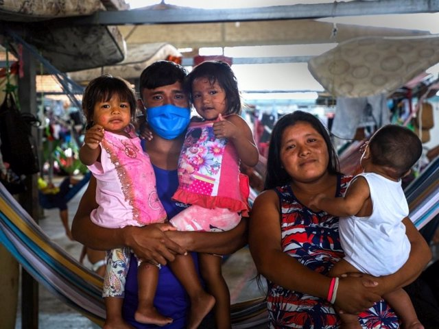 Migrantes venezolanos en Brasil durante la pandemia de coronavirus