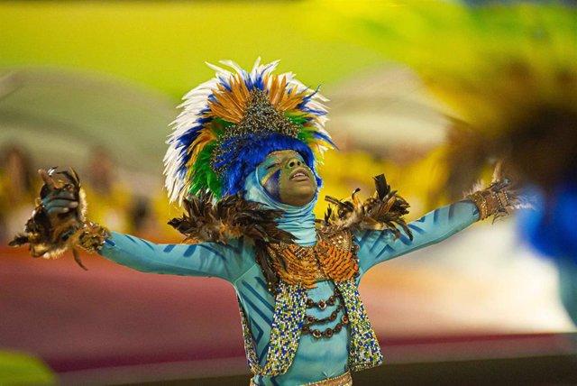 Carnaval de Brasil (Imagen de archivo)