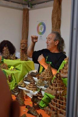 El artesano onubense José Ignacio Rua.