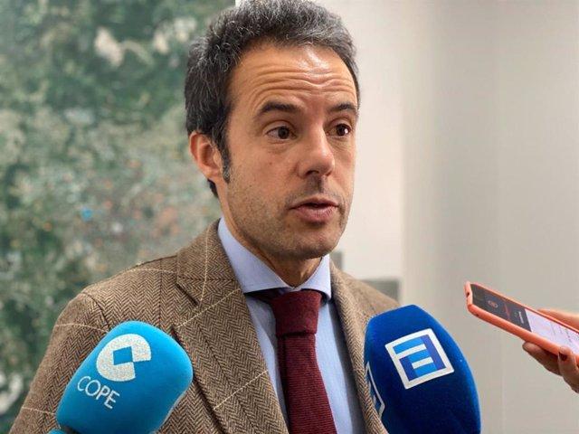 Concejal de Urbanismo e Infraestructuras del Ayuntamiento de Oviedo, Ignacio Cuesta.