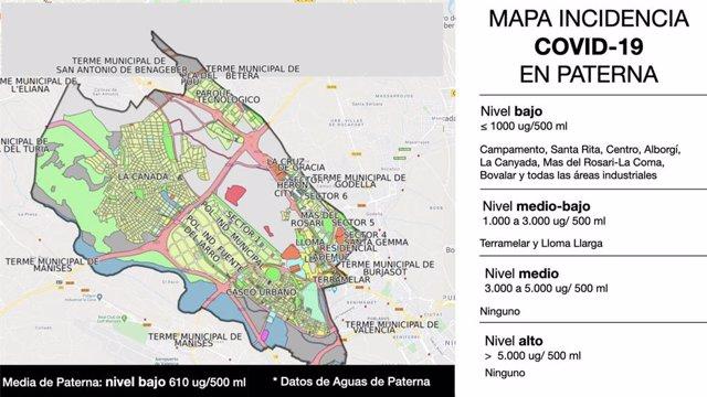 Los Análisis En Aguas Residuales De Paterna Confirman La Baja Incidencia De La Covid19
