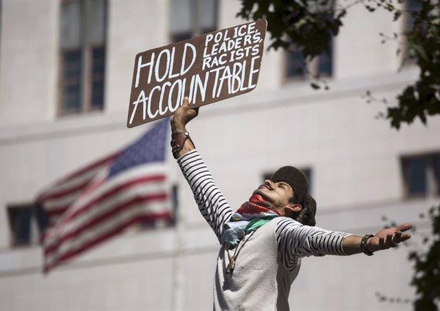 EEUU.-La ONU pide que los manifestantes de EEUU y los periodistas no sean objeto