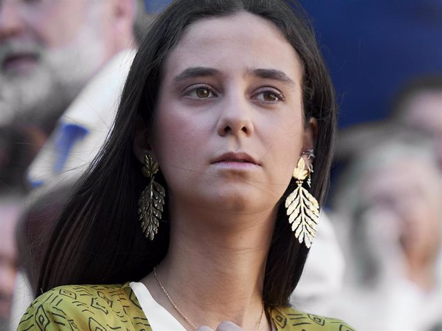 Victoria Federica de Marichalar y Borbon  attends La Beneficiencia Bullfight at Las Ventas Bullring on June 12, 2019 in Madrid, Spain.