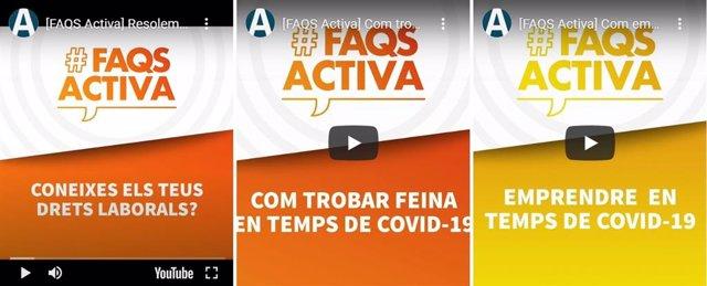 Barcelona Activa reprèn al setembre les seves 'Live' en Instagram per resoldre dubtes d'ocupació
