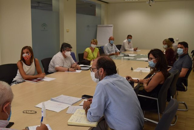 Reunión de la Junta con las Fundaciones Tutelares