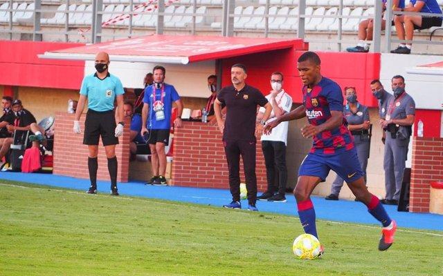 Fútbol.- (Previa) Barça B-Sabadell y Castellón-Cornellá, duelos finales por el a