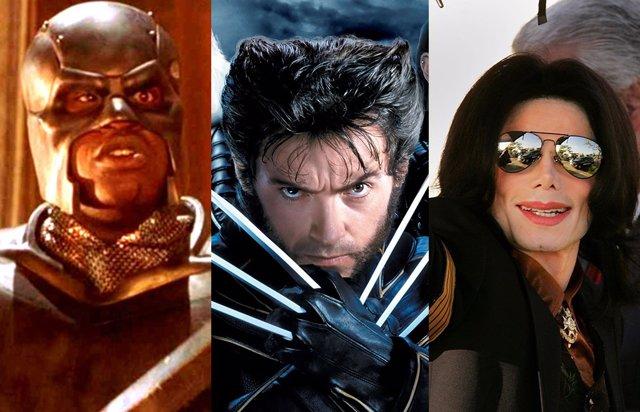 Michael Jackson, Shaquille O'Neal y Mariah Carey quisieron ser los primeros X-Men del cine