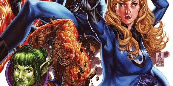 1. Así son los nuevos trajes de Los 4 Fantásticos de Marvel