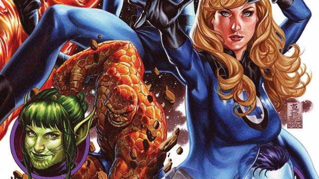 Los 4 Fantásticos de Marvel
