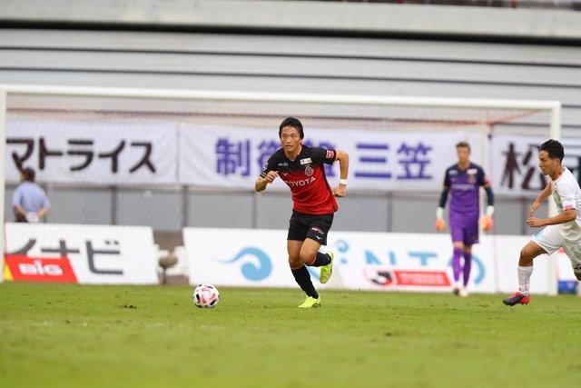Partidos de J1 League del Nagoya Grampus, afectado con tres casos positivos de c