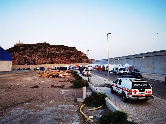 Ascienden a 454 los inmigrantes llegados en patera a la costa de Murcia desde el