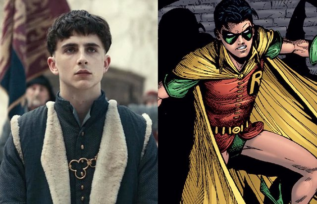 Timothee Chalamet es Robin en The Batman, en este increíble fan-art