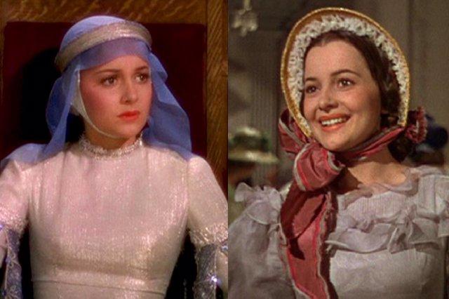 Olivia De Havilland En Robin Hood Y Lo Que El Viento Se Llevó