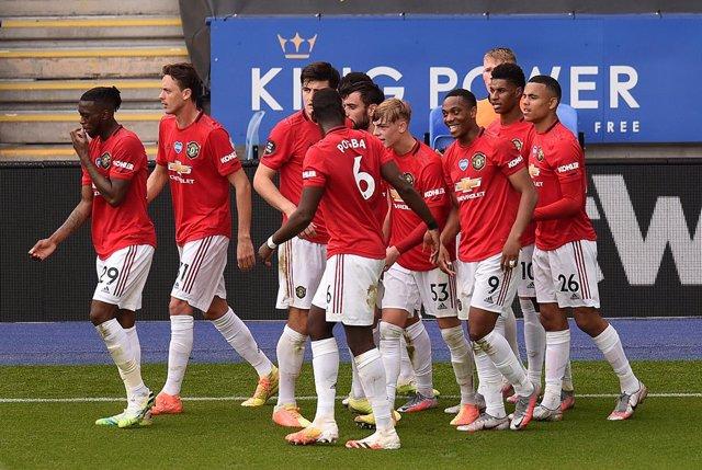 Fútbol/Premier.- (Crónica) El United se gana la Champions en la última jornada
